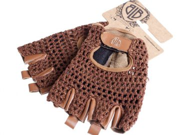 0006440_blb leather cycling gloves brown